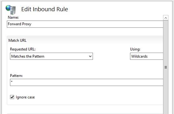 Edit Inbound Rule